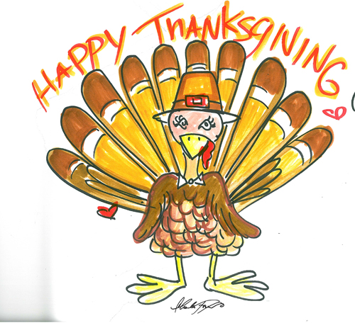 Charles-Fazzino-Thanksgiving-pop-art