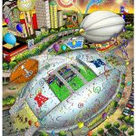 Charles-Fazzino-Super-Bowl-XLV-Dallas-Art
