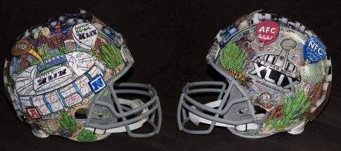 Super Bowl 49 Full Size HelmetTwoSides.LR