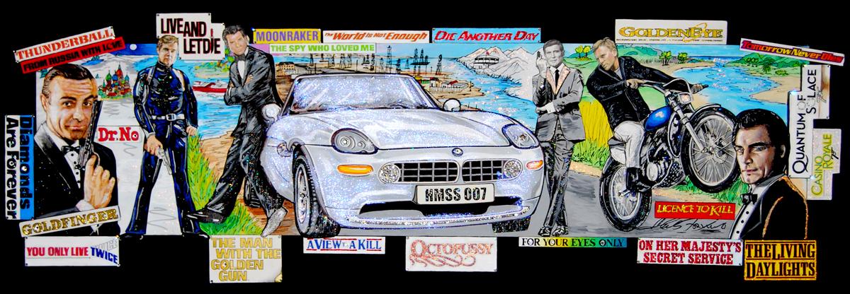 fazzino-O660-original-art-paintings-james-bond