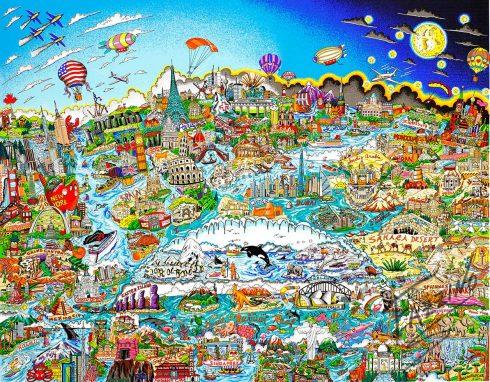 fazzino-cityscape-art-What-a-Wonderful-World