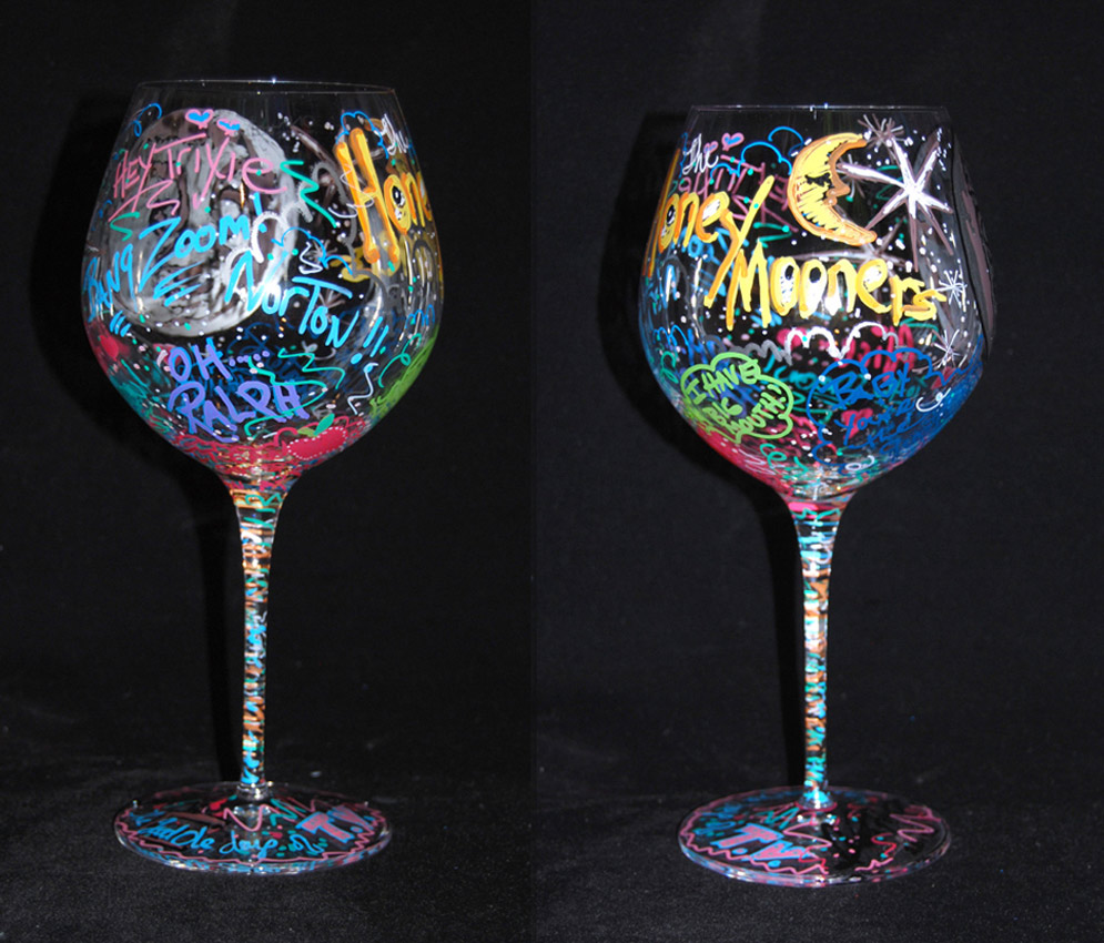 1000 images about wine glass art on pinterest
