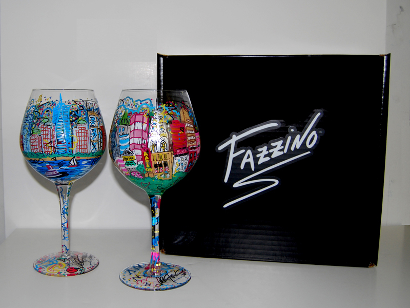 fazzino-hand-painted-NYC-Wine-Glasses-With-Box