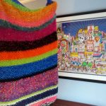 Fazzino inspired blanket