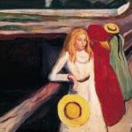 Girls-on-a-Jetty-Edvard-Munch