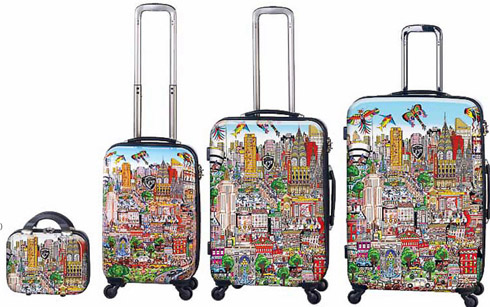 Luggage by Fazzino Are Unique Holiday Gifts