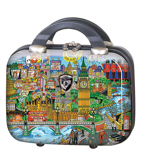 Fazzino by Heys USA London Luggage Beauty Case