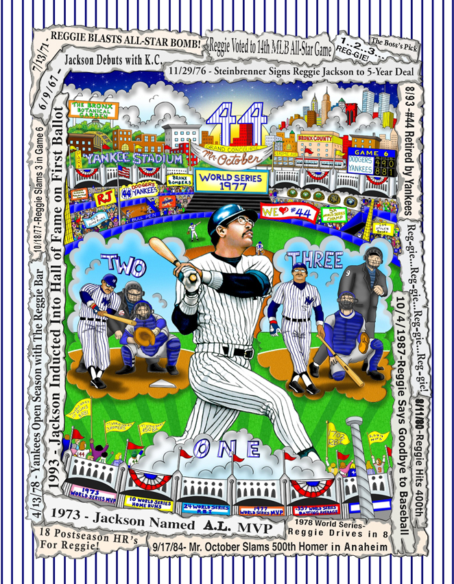 fazzino-baseball-pop-art-reggie-jackson-mr.-october