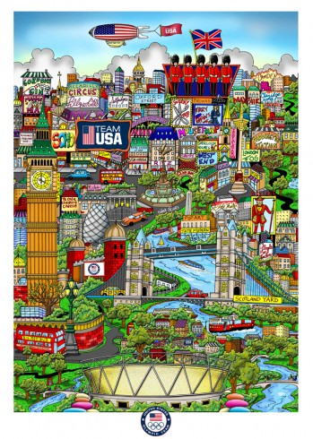 PAST SUMMER OLYMPIC GAME LIMITED EDITIONS, MINI PRINTS, AND POSTERS