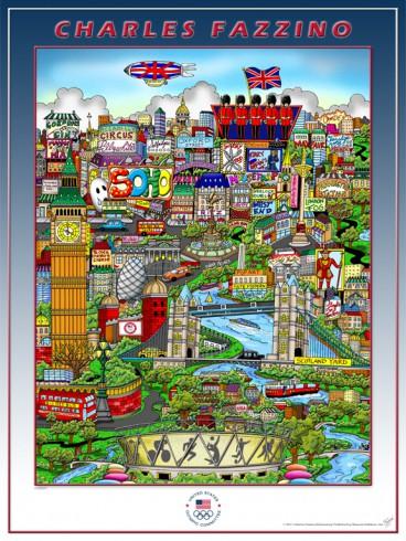 London Olympics Poster Design LR