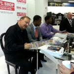 Signing with Quinton Coples and Kevin Reddick