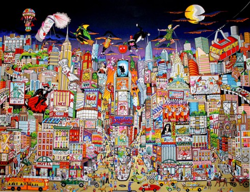 fazzino-cityscape-art-new-york-bright-lights-big-city