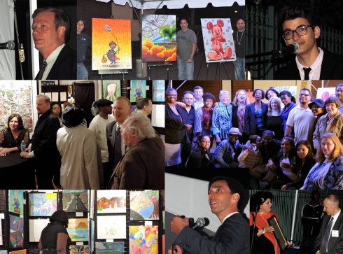 Photos from the CHOICE of New Rochelle fundrasier held in the Fazzino 3D Arts Studio in New Rochelle