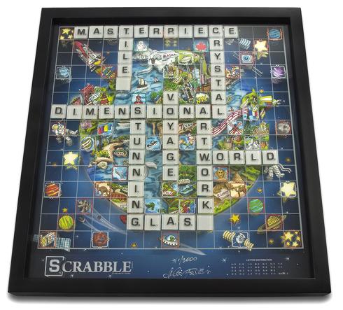 The Fazzino Limited Edition Scrabble Board