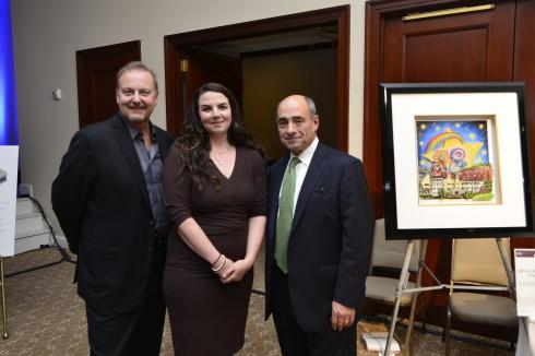 Charles Fazzino, Gabrielle Bellettieri, Michael Israel