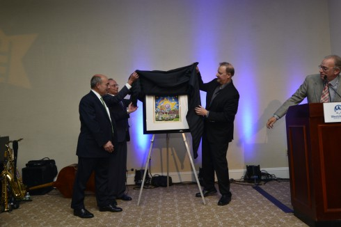 Michael Israel, Dr. Michael Gewitz, Charles Fazzino
