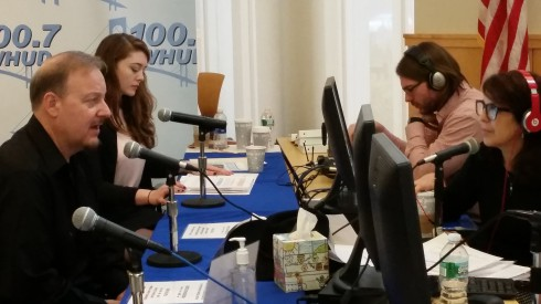 On the Radio with WHUD's Mike and Kacey