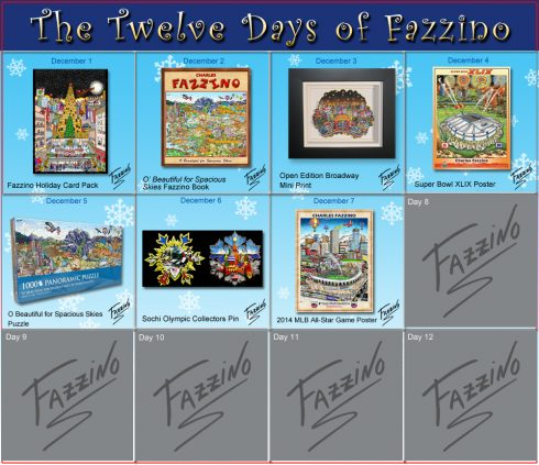 twelve days of Fazzino-Day 7