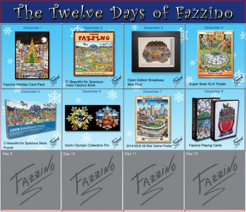 twelve days of Fazzino-Day 8