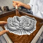 Ben Heine Pencil Vs Camera Art - Chocolate Cream - 2015