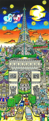 fazzino-cityscape-Paris-Love-is-in-the-air-LR