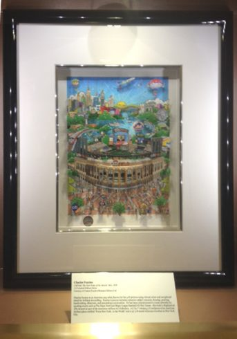 CitiField 2010 baseball art by Charles Fazzino on display at RCS Fine Art Gallery