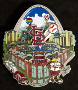 St Louis Cardinals Pin LR