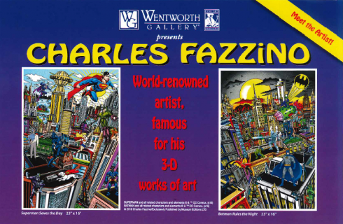 Charles Fazzino Wentworth Gallery in Florida
