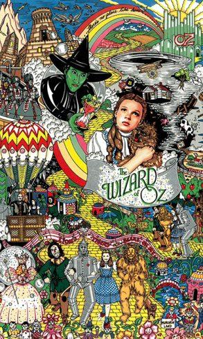 "Fazzino's ""The Wizard of Oz"""