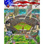 Charles Fazzino art collection for the 2016 Major League Baseball All-Star Game