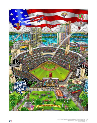 2016 All-Star Game by Charles Fazzino