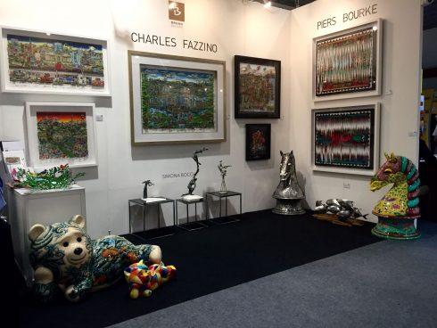 Charles Fazzino 3d Pop Art Gallery in Korea