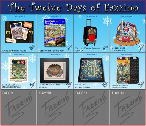Day 8 of 12 days of Fazzino, Phone Case