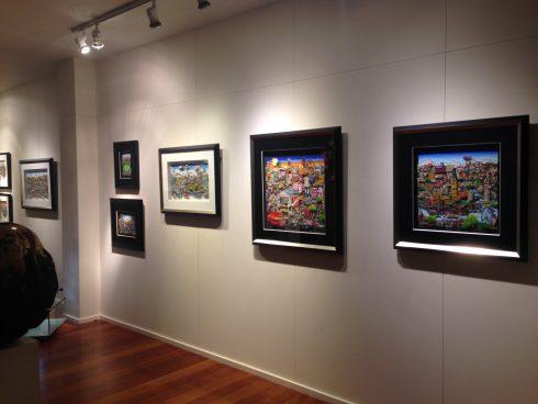 Charles Fazzino: Galerie Artima, London