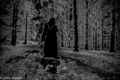 "John Supple's ""Grim Reaper"" series"