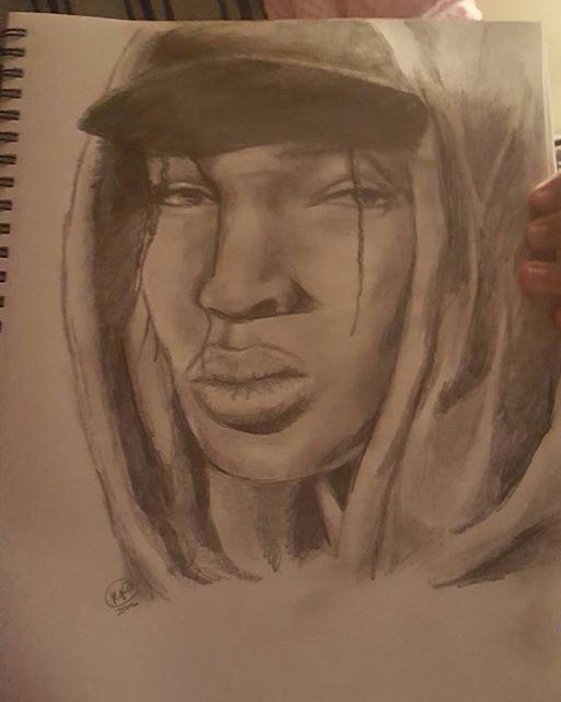 Fazzino featuring 9th grade, New Rochelle student, Kane Peterson's artwork