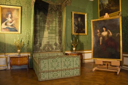 Historic Bedroom at the Castle of the Nymph