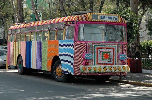 "Madga Sayeg ""Groovy Bus"" Mexico City, Mexico"