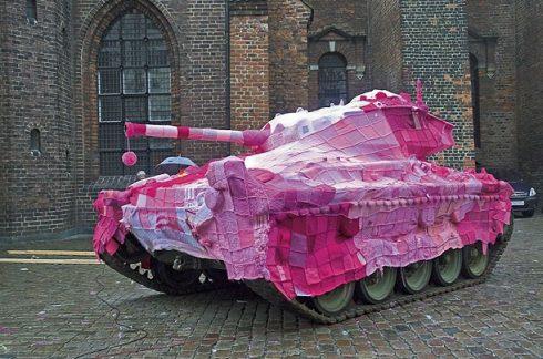 Tank Blanket - Military Tank Copenhagen, Denmark