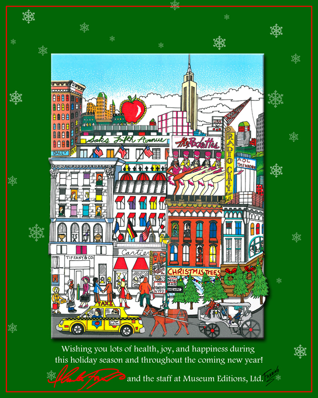 Fazzino-Holiday-Pop-Art-Card