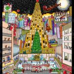 Holiday Cards Illustrated by 3D Pop Artist Charles Fazzino