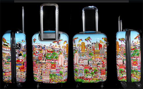 New York LuggageTheme