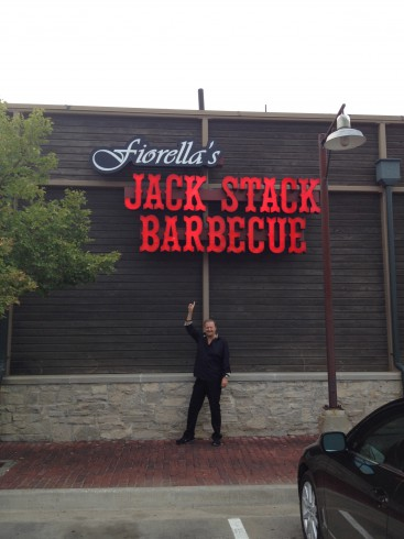 Fazzino at Fiorella's Jack Stack Barbecue Kansas City