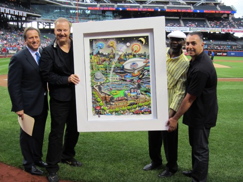 John-Franco-Charles-Fazzino-Mookie-Wilson-Bruce-Beck-CitiField-OnField-Unveiling-6.11.13-LR