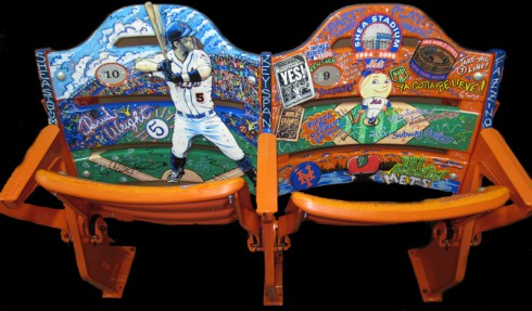Authentic Shea Stadium Seats