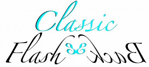 Image of the logo of Emily Frank's Classic Flashback