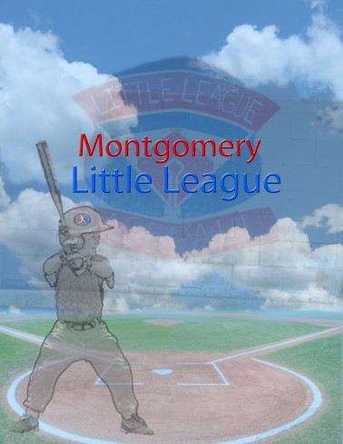 Artwork by Melissa Rosenberger about Montgomery Little League, inspired by the work of Charles Fazzino