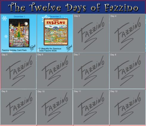 twelve days of Fazzino-Day 2