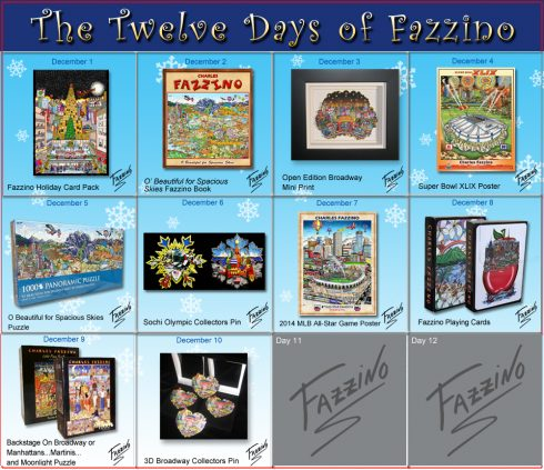 twelve days of Fazzino-Day 10