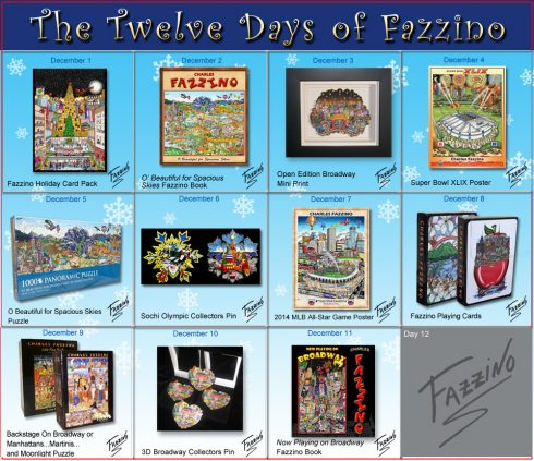 twelve days of Fazzino-Day 11